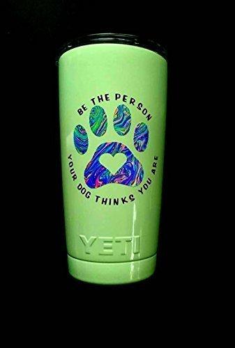 Dog Heart Pawprint Brand Cheap Sale Venue Vinyl Decal Sticker - SHIPPING Cut FREE Die Houston Mall