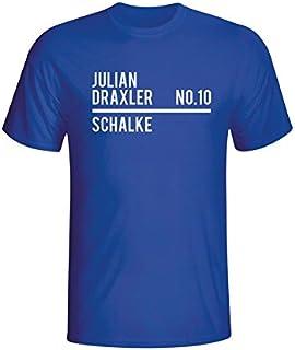 Julian Draxler Schalke Squad T-shirt (blue)