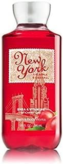 Bath & Body Works Shea & Vitamin E Shower Gel New York Big Apple Caramel