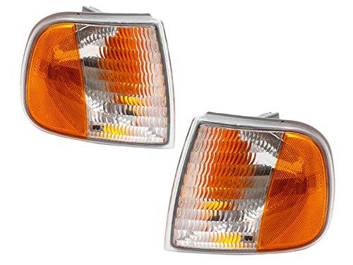 Ford Pickup Truck 97-03 Corner Signal Park Lights Lamps Pair Set Left & Right