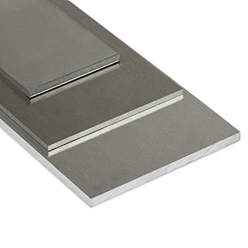 Aluminium Platte   Stärke: 10mm (1cm)   BxL 200x500mm (20x50cm) Zuschnitt