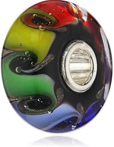 Trollbeads Glas Bead Chakra Farben