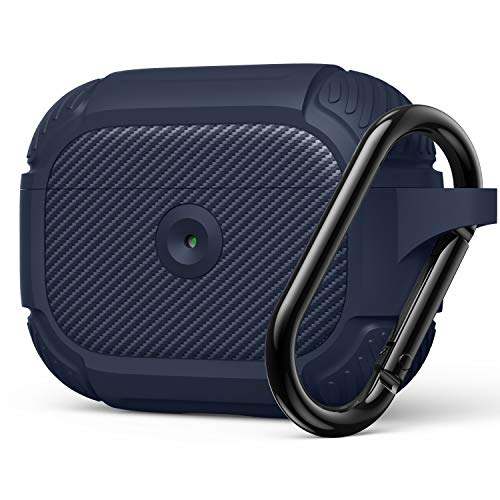 AirPods Pro Case, Full-Body Rugged Protective Cover, Resilient Shock Absorption Design, Durable Case with Smooth Skin - Blue