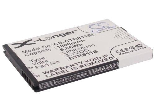 Substitute Battery for Casio BTR811B Fit for C811, Commando 2, Commando 4G LTE(1800mAh Li-ion)
