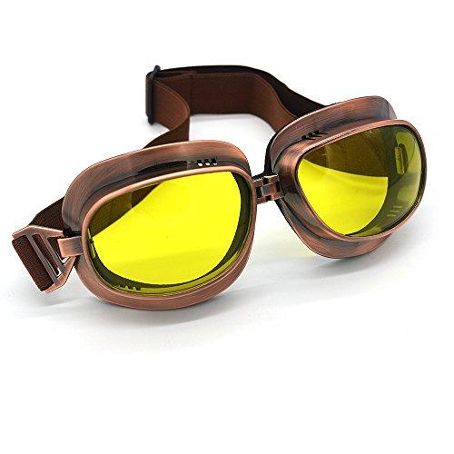 Outdoor bril Hot Vintage Motorfiets Goggles Motor Motocross Offroad Oogkleding Motorfiets Zonnebril
