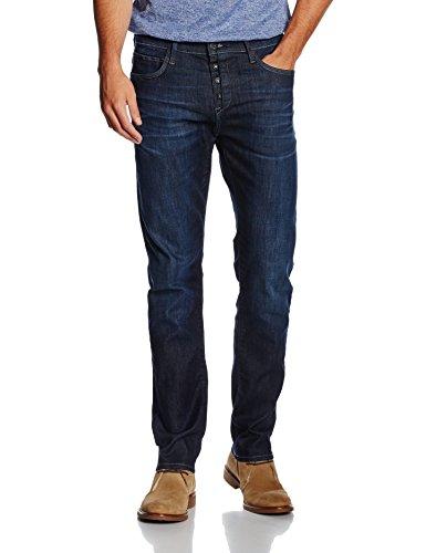 Mavi Regular-fit-jeans »daria« Im Used-look Dark-blue-used