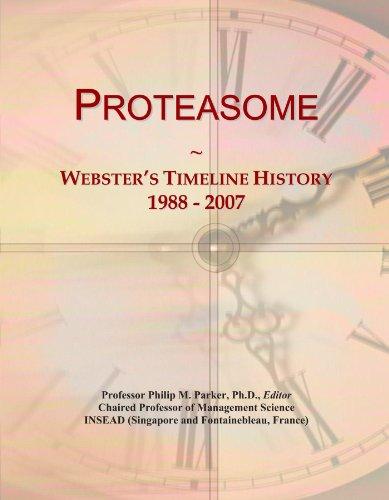 Proteasome: Webster's Timeline History, 1988 - 2007