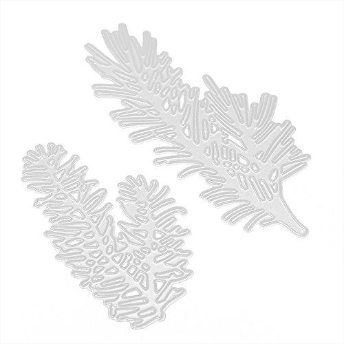Wuayi Stanzschablone, Weihnachtsbaum, Schneemann, Stanzschablone für DIY-Album, Scrapbooking, Papier, Karten, Dekoration, Karbonstahl, D, As Shown