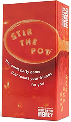 Stir The Pot - The Party Game Where You Compete to Roast Your Friends - by What Do You Meme?
