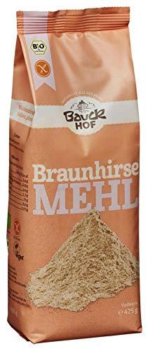 Bauckhof Bio Bauck Braunhirsemehl, glut.fr (2 x 425 gr)