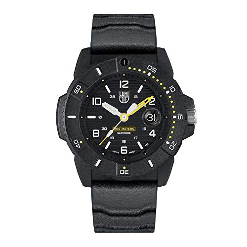 Reloj de Cuarzo Luminox Navy Seal 3600 Series, Negro, 45 mm, 20 ATM, XS.3601