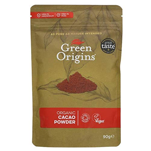 GREEN ORIGINS | Cacao Powder Organic | 8 x 90g (ES)