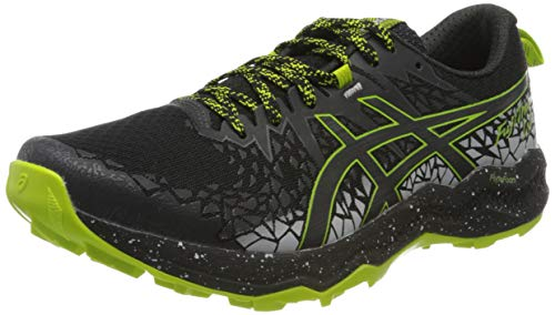Asics Mens Fujitrabuco Lyte Running Shoe, Black/Graphite Grey, 47 EU