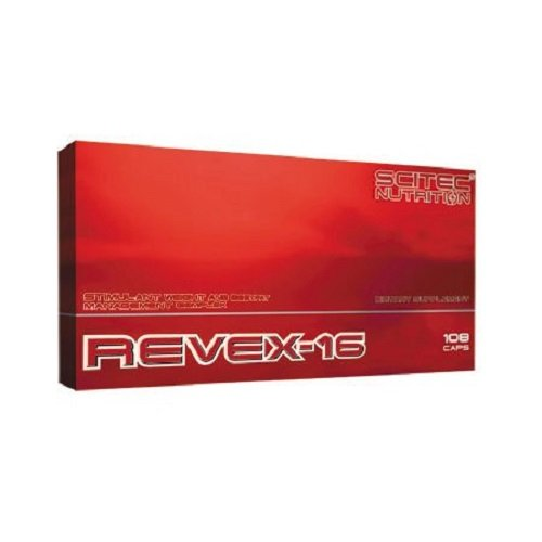 Scitec Nutrition REVEX-16 quemador de grasa 108 cápsulas