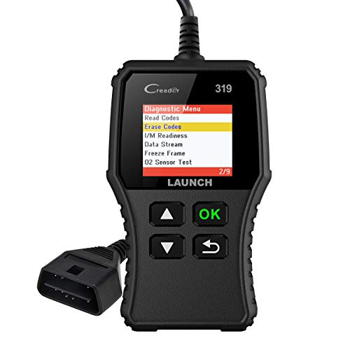 LAUNCH CR319 OBD2 Code Reader, Automotive Engine Light Check...