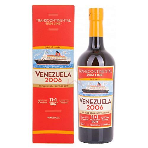 Transcontinental Rum Line Transcontinental Rum Line VENEZUELA 2006 60,9% Vol. 0,7l in Giftbox - 700...