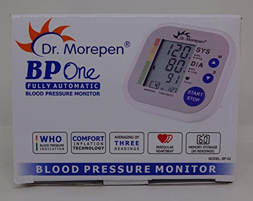 Dr. Morepen Blood Pressure Checking Machine One Bp09 (White)