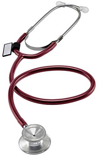 MDF® leichtes Zweikopf-Stethoskop - Weinrot (MDF747-17)