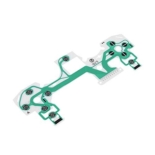 VBESTLIFE 10-teilige leitfähige Folie, Ersatzteil Grüne Tastatur leitende Folie für Sony Playstation 4 PS4-Controller, langlebig und korrosionsbeständig