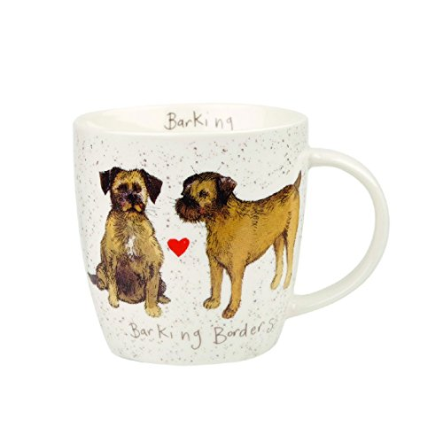 Alex Clark Squash Delight Perros Terrier 390ml OP Stk 6, cerámica, Multicolor, 9,5x 9,5x 10cm