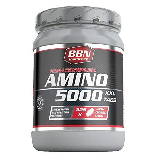 BBN Hardcore Amino 5000 Tabs, 1er Pack (1 x 682,5 g)