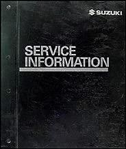 2006 Suzuki Grand Vitara Repair Shop Manual Original