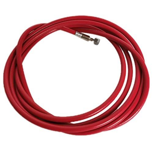 Nrpfell Cable de LíNea de Freno para Scooter Xaiomi M365, Accesorio de Repuesto Rojo Resistente una Roturas, Accesorios de Scooter EléCtrico