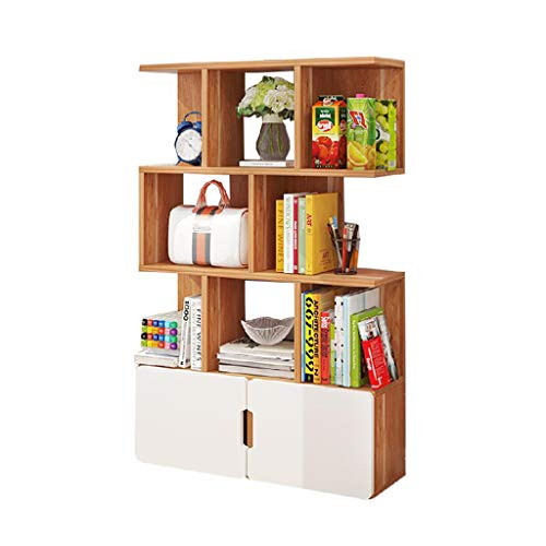 Bookcases, Cabinets & Shelves Bookshelf Floor Combination Bookcase Bookcase Home Student Locker Shelf Children's Bedroom Bookcase Rack Load Weight 100kg / Best Gift