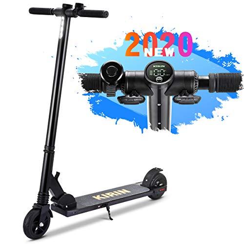 urbetter Trottinette Electrique, Scooter électrique Pliant Ultra avec lumièr LED, Vitesse Maximale de 20 km/h, Léger et Réglable pour Ados et Mixte Adulte