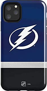 Skinit Impact Phone Case for iPhone 11 Pro Max - Officially Licensed NHL Tampa Bay Lightning Alternate Jersey Design