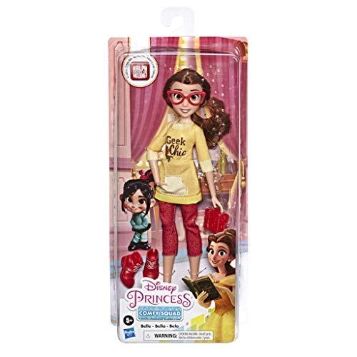 Disney Princess - Comfy Squad Muñeca Bella (Hasbro, E8401EL2)
