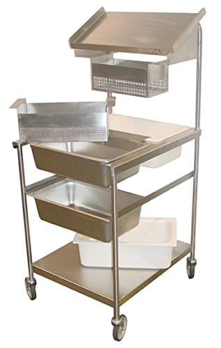 Prairie View Ind. Food Service BBS-F Bread and Batter Station, Full Size, 24.75' Width x 60.25' Height x 29' Length