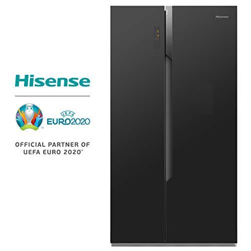 Hisense RS670 N4BF3 Side-by-Side/A+++/178.6 cm/229 kWh/Jahr/339 L Kühlteil/177 L Gefrierteil/Alarmfunktion