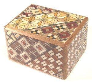 Koyosegi Puzzle Box 2 sun   7 step by Japanese Puzzle Boxes