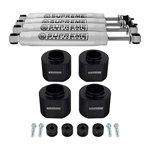 """Supreme Suspensions - Full Lift Kit for 1993-1998 Jeep Grand Cherokee ZJ 3"""" Front + 3"""" Rear Suspension Lift + Transfer Case Drop Kit + Pro Performance Series Shocks 4WD"""