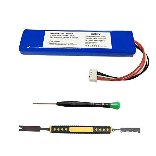 Estry Battery Replacement Kit for JBL Xtreme Extreme JBLXTREME GSP0931134 (5000mAh)