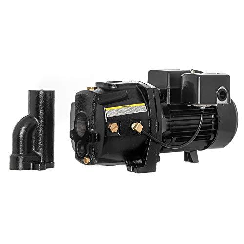 RainBro 1 HP Cast Iron Convertible jet well pump, Deep Well Pump with Ejector Kit, Model# CCW100