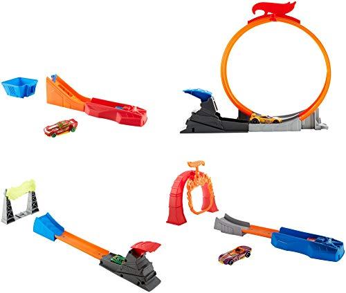 Hot Wheels Piste e Playset Mattel FTH79 Classic Stunt Surtido/Modelo Aleatorio (Una Unidad)
