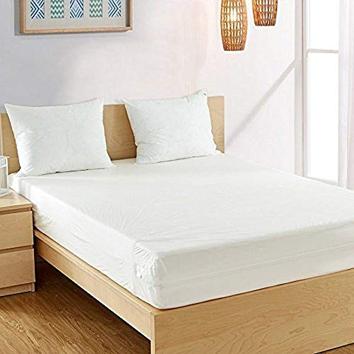 Fully Encased Waterproof Anti-Bed Bug Mattress Protector - Double (135x190x25cm)