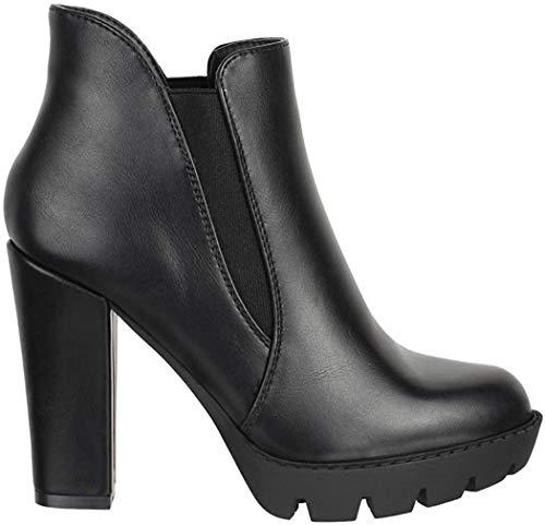 Elara Ankle Boots Chunkyrayan Dameslaarzen