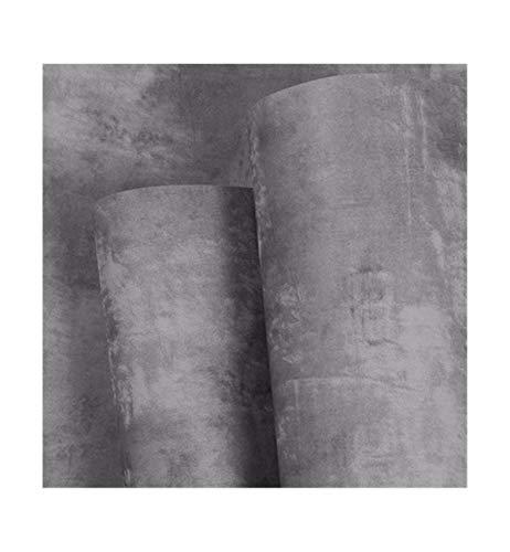 Multi-wallpaper retro grijs cement solide eenvoudig industrieel behang nostalgie restaurant theewinkel kapper kledingwinkel grijs