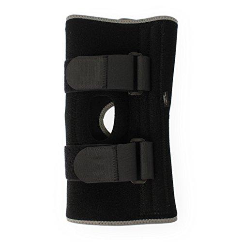 ティゴラ(TIGORA) ユニセックス サポーター 膝用サポーター (左右兼用) (TR-3F0156SU) ブラック フリー
