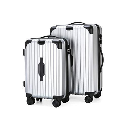 XDD Gepäckkofferset Hartschalengepäck 3-teiliges Set mit Drehrad und Passwortsperre Leichtes Rollgepäck 20 Zoll 24 Zoll Geeignet für die Business Travel Academy,B