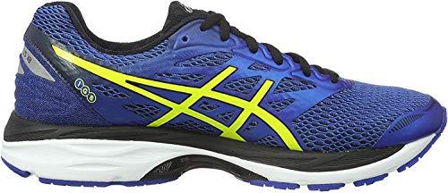 Asics Gel-Cumulus 18, Zapatillas de Running para Hombre, Azul (Blue/Yellow), 40.5 EU