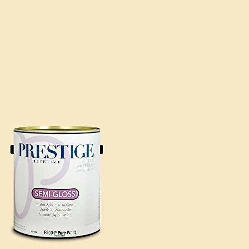 Prestige Paints Interior Paint and Primer In One, 1-Gallon, Semi-Gloss,  Comparable Match of Benjamin Moore Aura