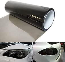 Glossy Clear Transparent Headlight Taillight Fog Light Side Marker Vinyl Tint Film Self Adhesive 1FT x 3FT JDMBESTBOY Free Tool Kit 12x36