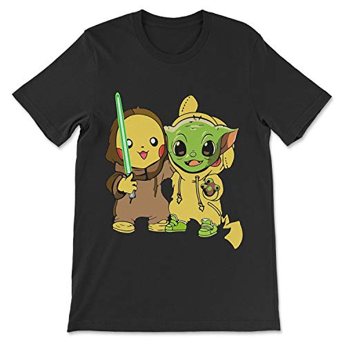 The Manda.Lorian Baby Yo.Da Child Pika.Chu Birthday Family Shirt