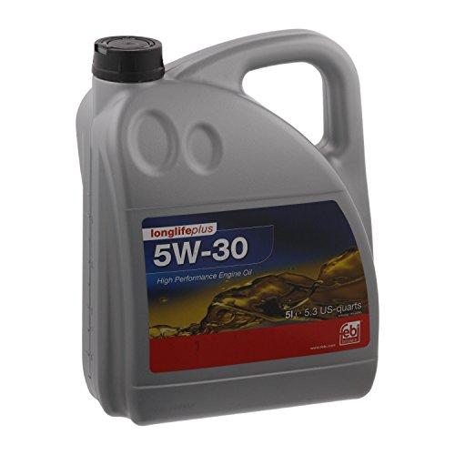 febi bilstein 32947 Motoröl SAE 5W-30 Longlife Plus , 5 Liter