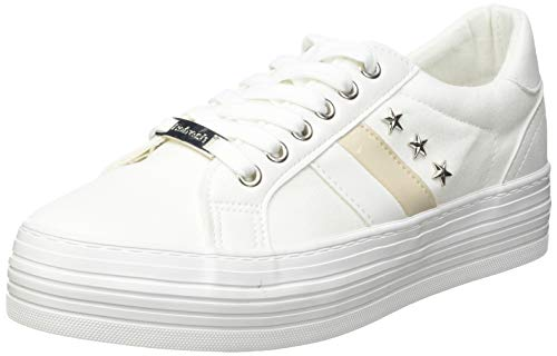 Refresh 72898, Zapatillas Mujer, Blanco, 39 EU