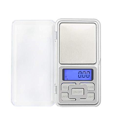 NoyoKere Schmuckwaage Handywaage Hochpräzise elektronische Waage Mini kleine Tasche Digital Gold Waagschalen Waagen Schmuck Taschenwaage